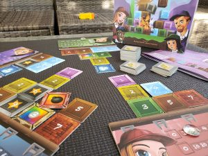 Paper tiles for board games